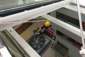 1 ATI abseiltechnieken installatiewerk op hoogte den haag