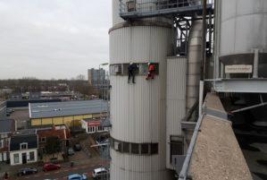 1. Abseiltechnieken rope access ramenwassen op hoogte