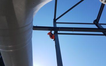 1 Abseiltechnieken inspectiewerk staalconstructie rope access
