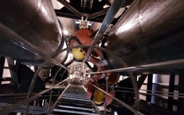 1 Abseiltechnieken industrieel onderhoud besloten ruimte Utrecht