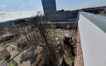 4 Abseiltechnieken monteren op hoogte rope access nijmegen