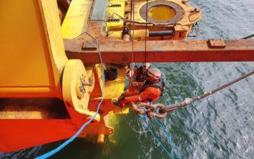 2 ATI IRATA rope access abseiltechnieken subsea7