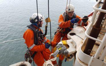 5 ATI IRATA rope access abseiltechnieken subsea7