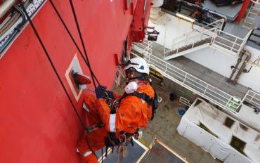 9 ATI IRATA rope access abseiltechnieken subsea7
