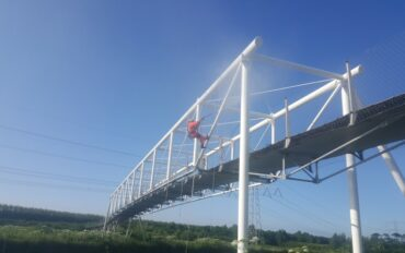 1 Abseiltechnieken brug reinigen boven water rope access
