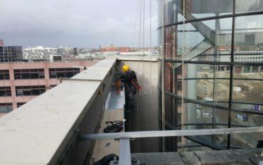 3 Rope access abseiltechnieken monteren op hoogte amsterdam