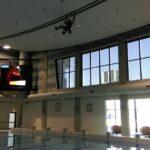 4 Abseiltechnieken inspectie en onderhoudswerk boven water zwembad
