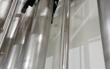 9 Abseiltechnieken reinigen oplevering zuivelfabriek rop access